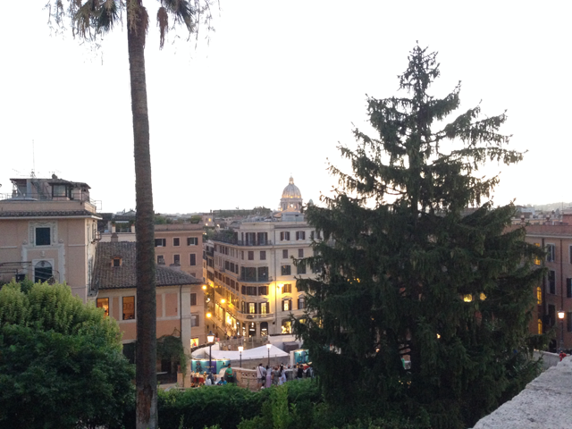 Rome Escaliers Trinité des Monts
